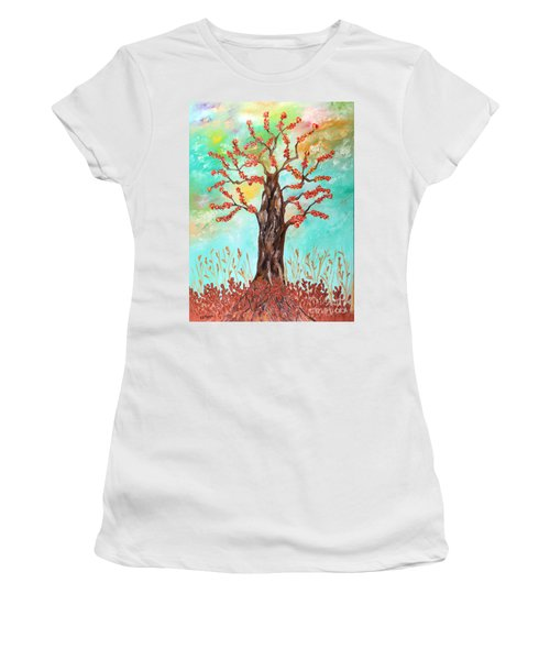 Tree Of Joy Women's T-Shirt (Athletic Fit)
