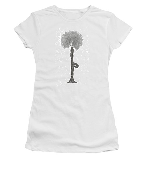 Tree Pose Women's T-Shirt (Athletic Fit)