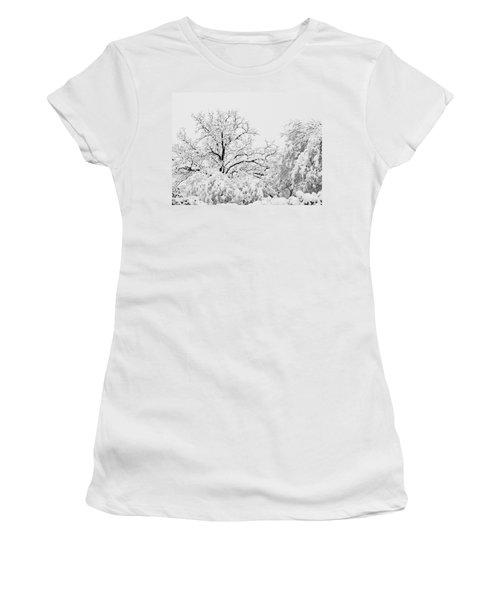 Tree Snow Women's T-Shirt