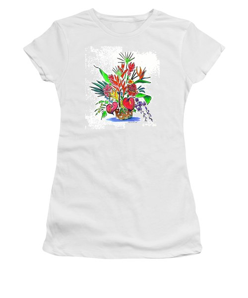 Tropical Basket Women's T-Shirt