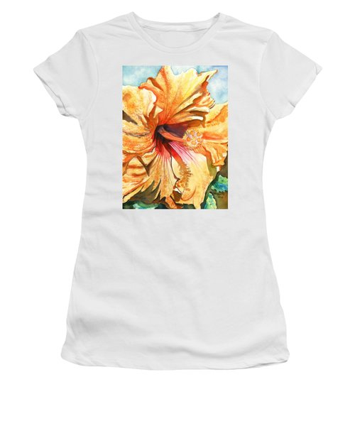 Tropical Hibiscus 3 Women's T-Shirt