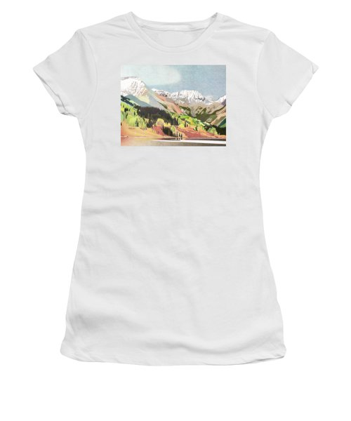 Trout Lake Colorado Women's T-Shirt (Athletic Fit)