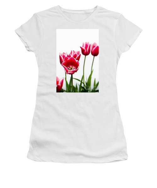 Tulips Say Hello Women's T-Shirt