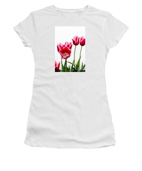 Tulips Say Hello Women's T-Shirt