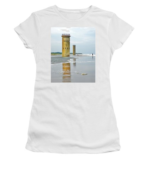 Twin Towers At Whiskey Beach Women's T-Shirt