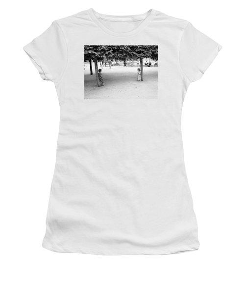 Two Kids In Paris Women's T-Shirt