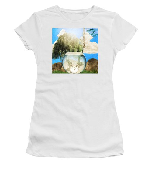 Two Lost Souls Women's T-Shirt (Athletic Fit)