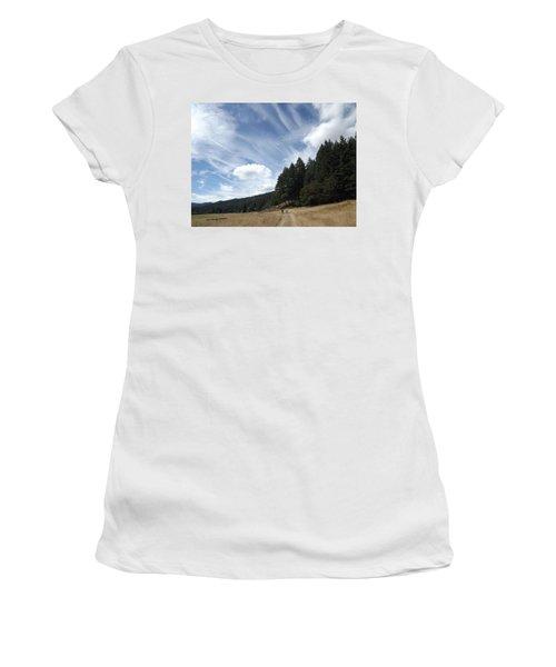 Two Of A Kind Women's T-Shirt (Junior Cut) by Richard Faulkner