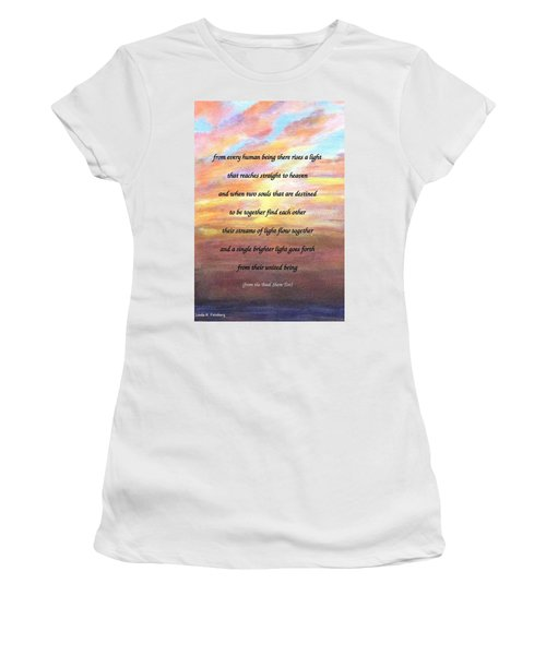Two Souls Destined To Be Together Women's T-Shirt