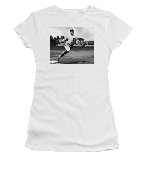 Ty Cobb Women's T-Shirt (Athletic Fit)