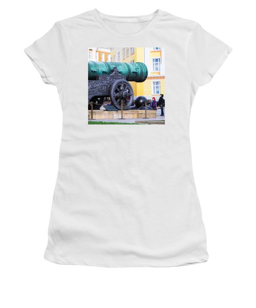 Tzar Cannon Of Moscow Kremlin - Square Women's T-Shirt (Athletic Fit)