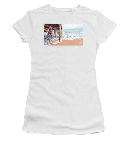 Under The Boardwalk Salsibury Beach Women's T-Shirt