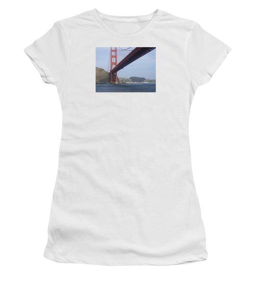 Under The Golden Gate Women's T-Shirt (Athletic Fit)