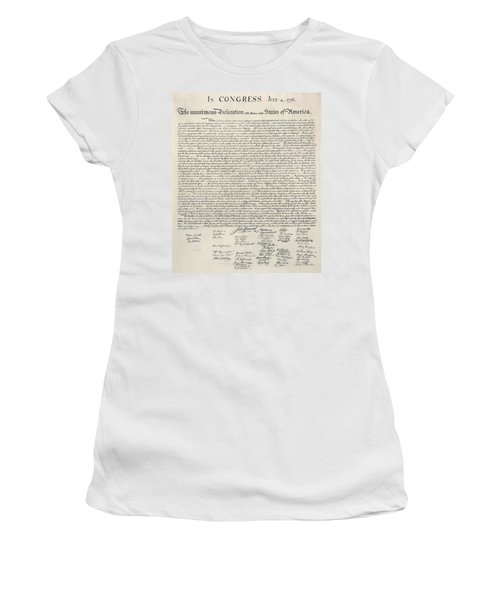 United States Bill Of Rights Women's T-Shirt (Athletic Fit)