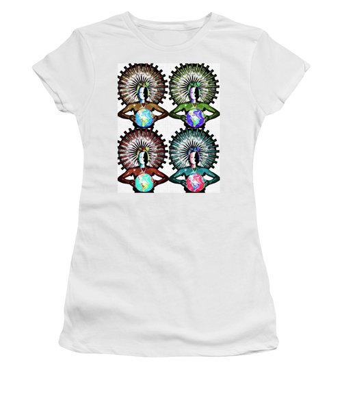 Unity-love-peace In This World Women's T-Shirt