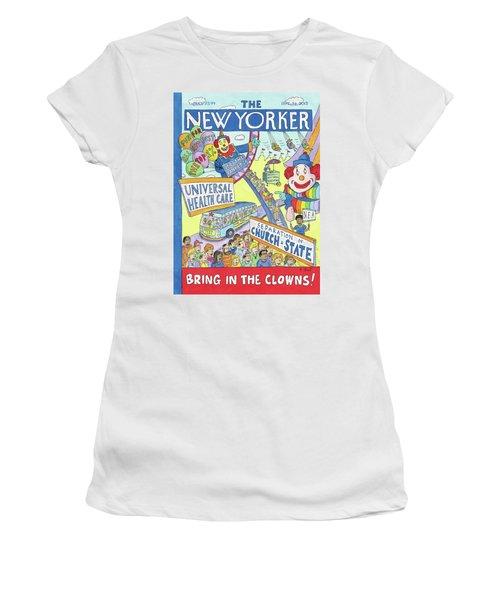 New Yorker September 24th, 2012 Women's T-Shirt