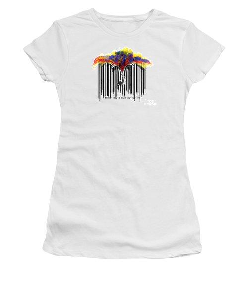 Unzip The Colour Code Women's T-Shirt