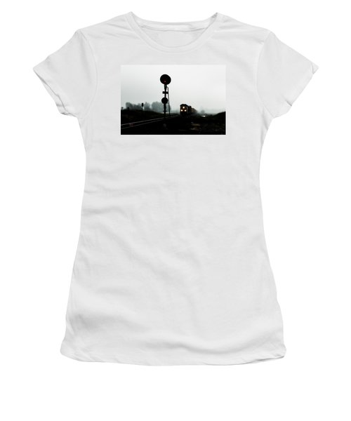 Up 8057 Women's T-Shirt (Junior Cut) by Jim Thompson