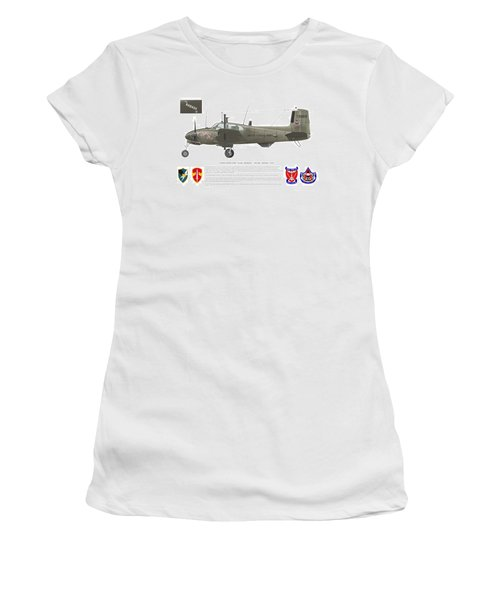 U.s. Army Ru-8d 138th Women's T-Shirt (Athletic Fit)