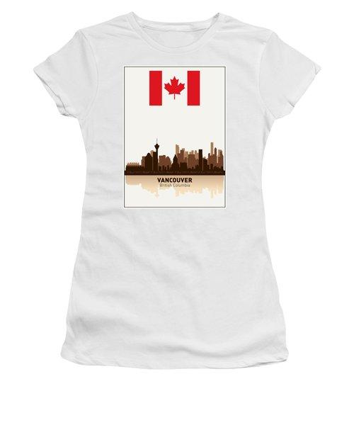 Vancouver British Columbia Canada Women's T-Shirt