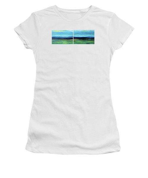 Vast Horizon Women's T-Shirt (Junior Cut) by Dick Bourgault
