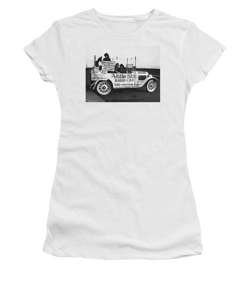 Velie Six Radio Car Women's T-Shirt