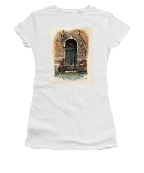 Venetian Door 01 Elena Yakubovich Women's T-Shirt (Athletic Fit)