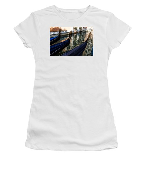 Venetian Gondolas Women's T-Shirt (Athletic Fit)