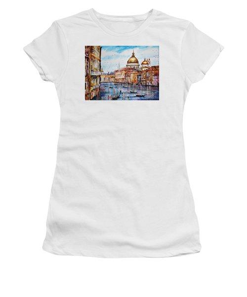 Venetian Paradise Women's T-Shirt (Athletic Fit)