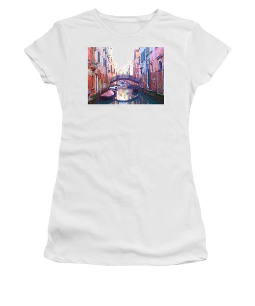 Venetian Reflections Women's T-Shirt (Athletic Fit)
