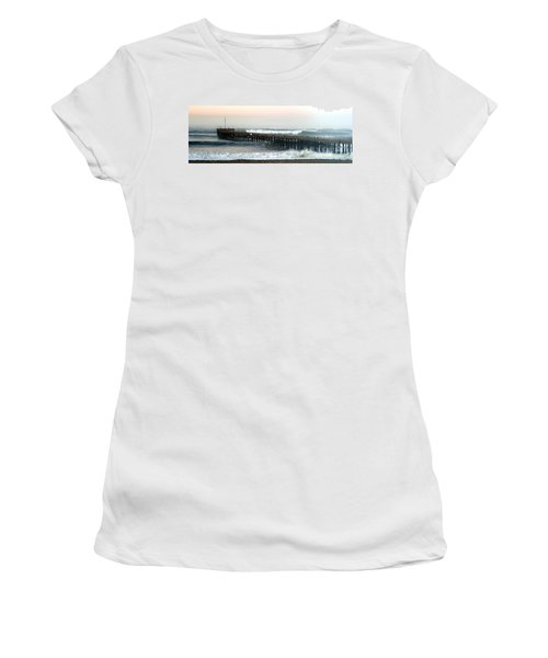 Ventura Storm Pier Women's T-Shirt (Athletic Fit)