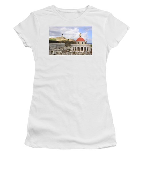 Viejo San Juan Women's T-Shirt (Athletic Fit)