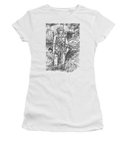 Vietnam Soldier Women's T-Shirt