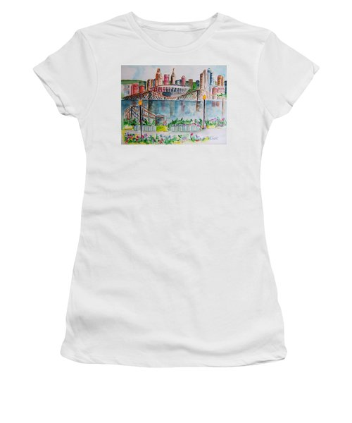 View From Devou Women's T-Shirt (Athletic Fit)
