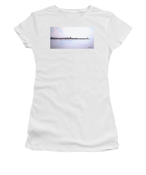 View From The Hudson Women's T-Shirt (Athletic Fit)