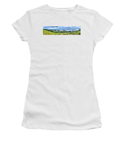 Vineyards By The Sea Women's T-Shirt (Athletic Fit)