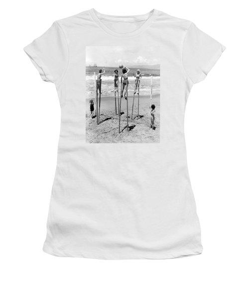 Volleyball On Stilts Women's T-Shirt