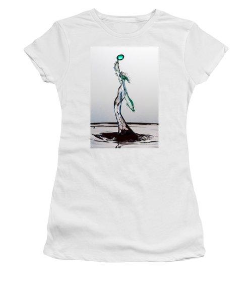 Volleyball Splash Women's T-Shirt