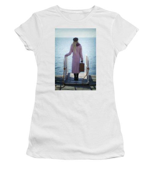 Waiting For A Ship Women's T-Shirt