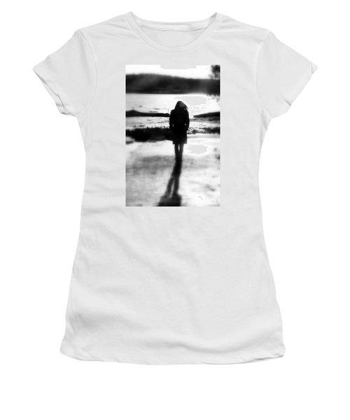 Walking Alone Women's T-Shirt (Junior Cut) by Valentino Visentini