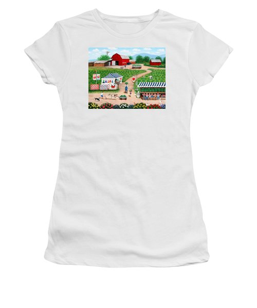 Walter's Watermelons Women's T-Shirt (Athletic Fit)