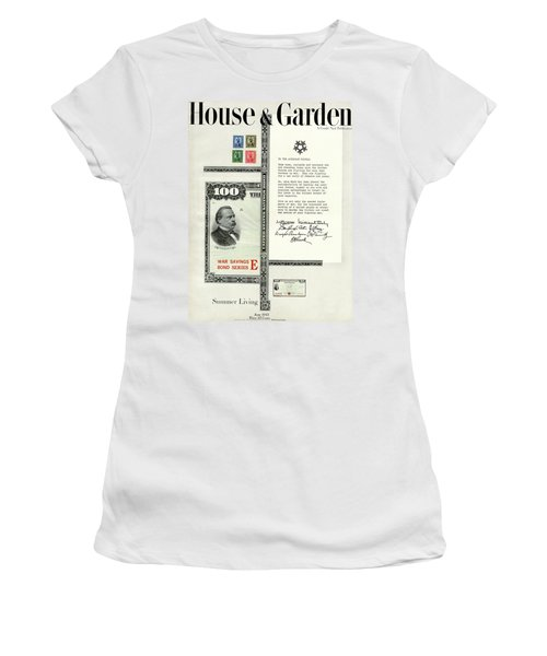 War Bonds, Stamps And A Letter Women's T-Shirt