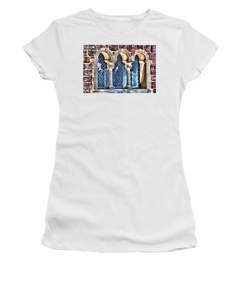Women's T-Shirt featuring the photograph Wartburg Castle - Eisenach Germany - 2 by Mark Madere