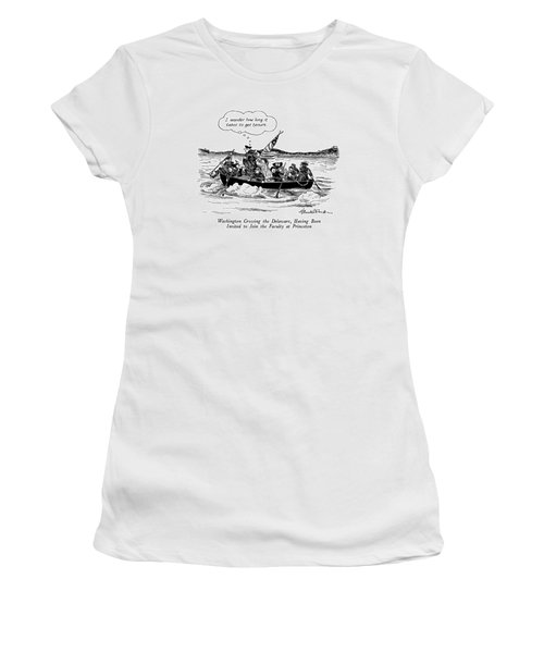 Washington Crossing The Delaware Women's T-Shirt