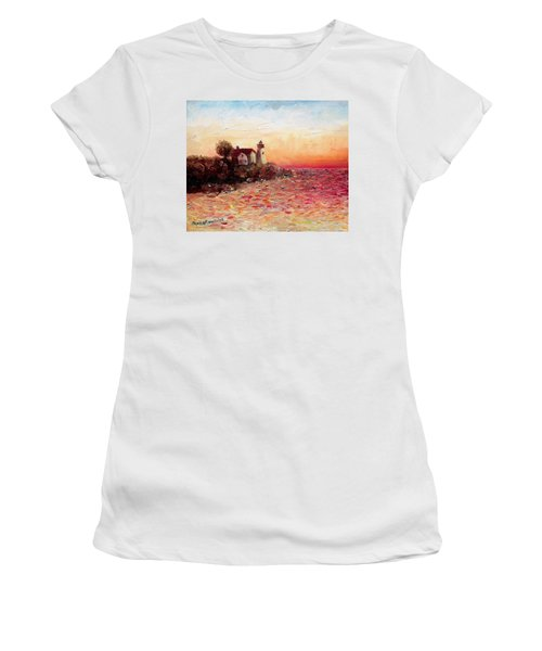 Watch Over Me Women's T-Shirt (Athletic Fit)