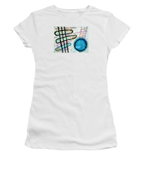 Water Frequency Women's T-Shirt (Junior Cut) by Maria Huntley
