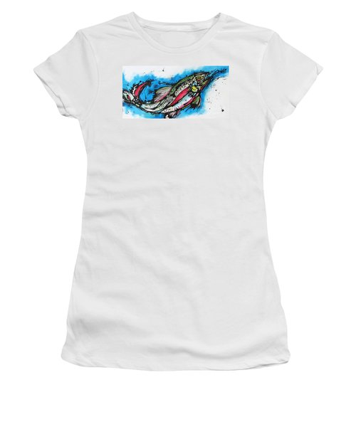 Water Way Women's T-Shirt (Athletic Fit)