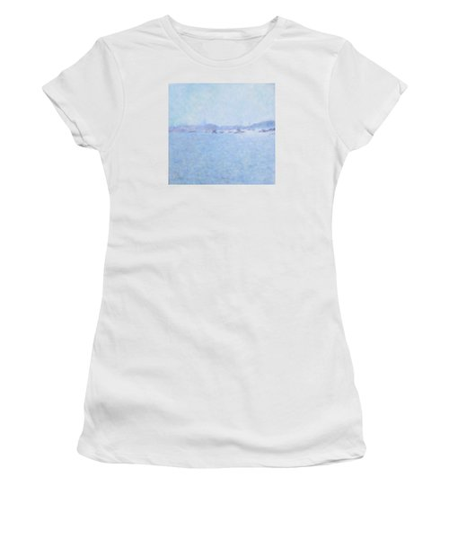 Waterway Of Beautiful France Women's T-Shirt (Athletic Fit)