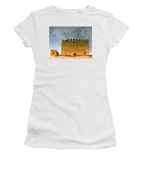Women's T-Shirt featuring the photograph Watery Alhambra by Rick Locke