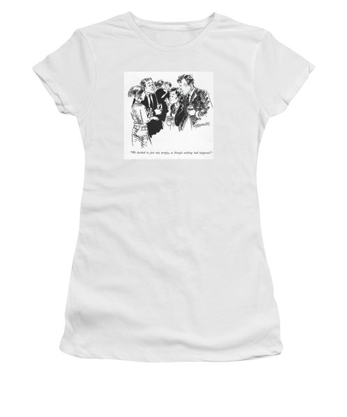 We Decided To Just Stay Preppy Women's T-Shirt